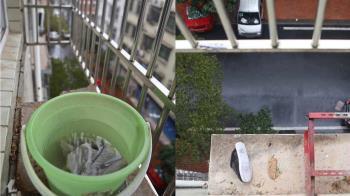 大掃除跨防盜窗 母墜5樓!兒聽巨響只剩1隻鞋