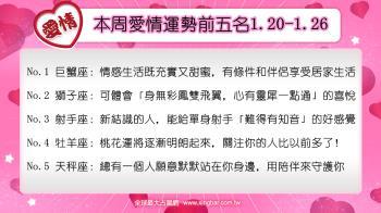 12星座本周愛情吉日吉時(1.20-1.26)