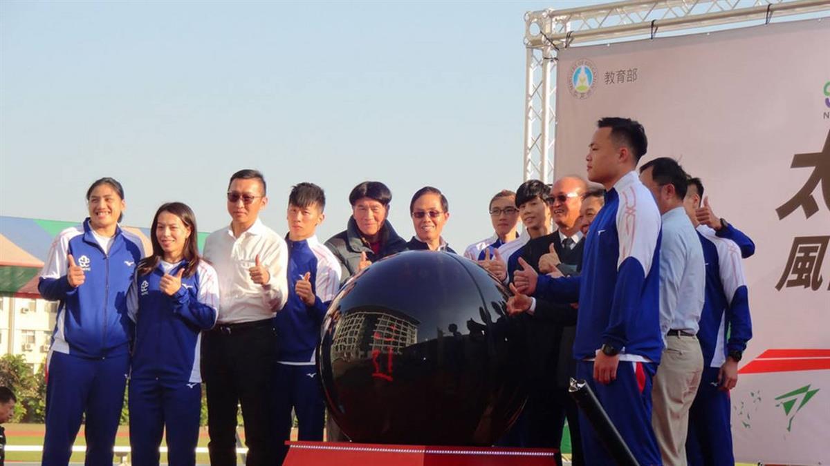國訓中心太陽能跑道啟用 選手備戰東京奧運