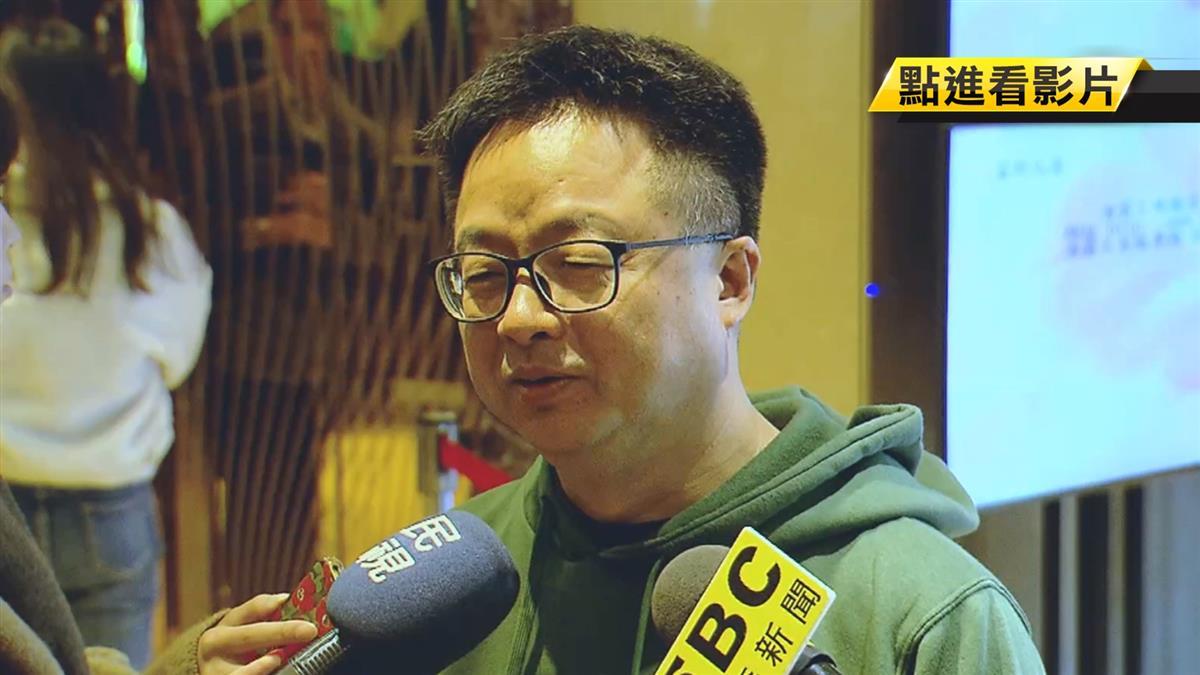 傳羅文嘉布局台北市長 妻PO文:輪不到他選