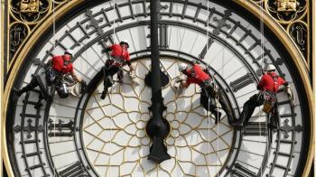 英國脫歐夜敲響大本鐘 為什麼需要50萬英鎊?
