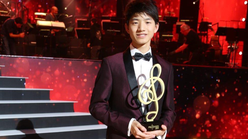 華裔少年嶄露頭角 鋼琴神童走紅法國