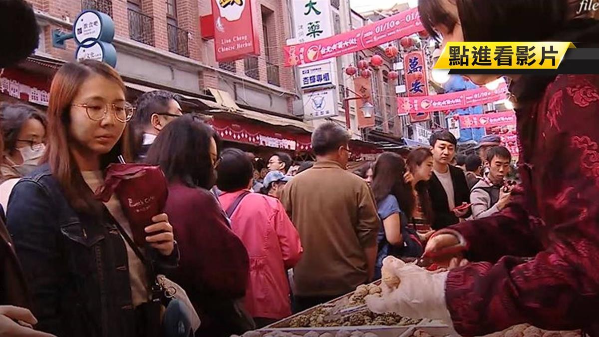 年前黃金周末 迪化街攤商嘆:買氣掉3成