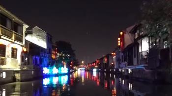 京杭大運河穿城而過 水鄉風情遊客朝聖