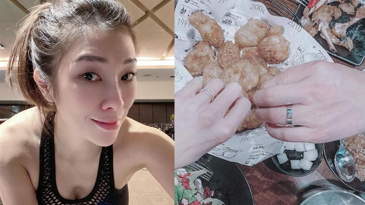 恭喜!Kimiko被求婚 曬戒指甜喊:我願意