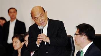 武漢肺炎防疫 蘇貞昌:民眾不需恐慌