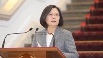 武漢肺炎疫情  蔡總統:政府嚴陣以待不需恐慌