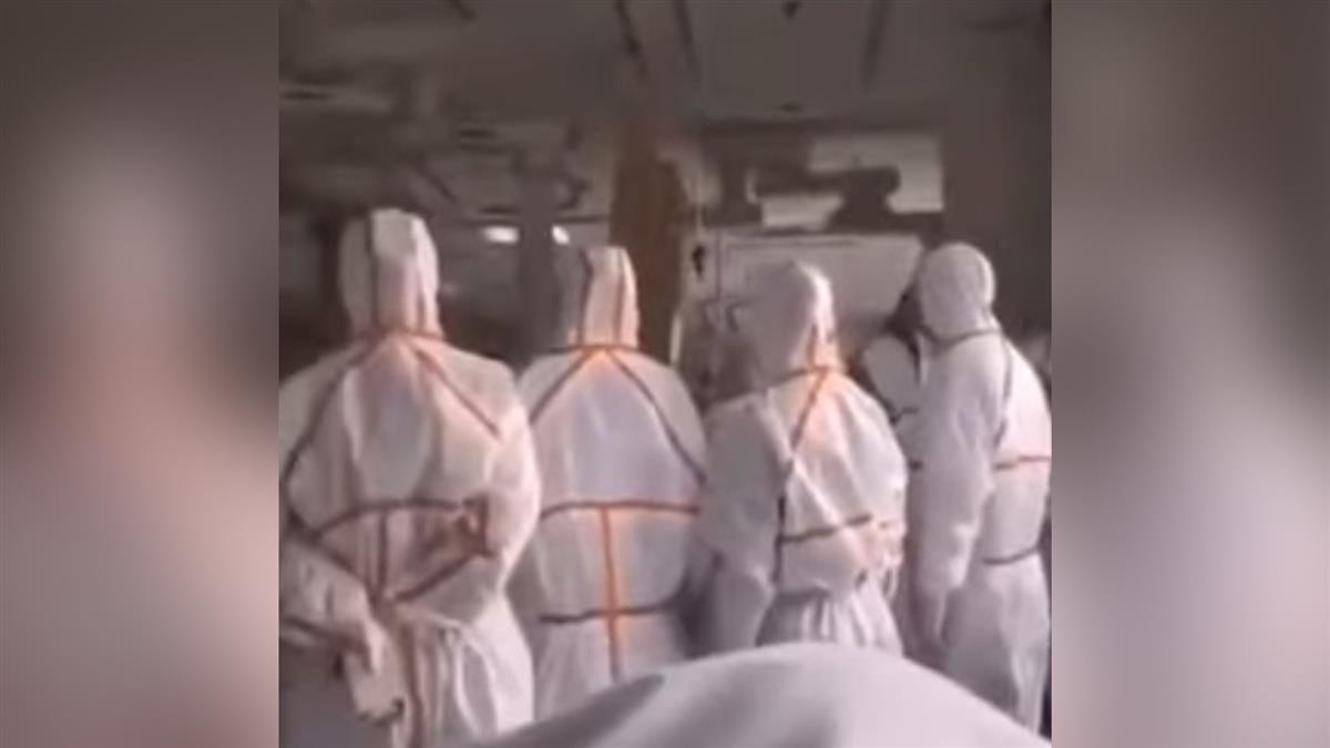 醫護全副武裝戒備 疑武漢肺炎感染者:又沒什麼