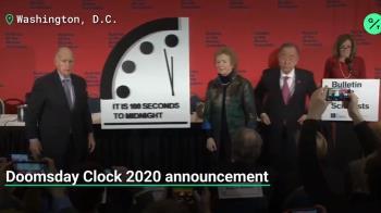 末日鐘倒數100秒!73年來最接近人類毀滅