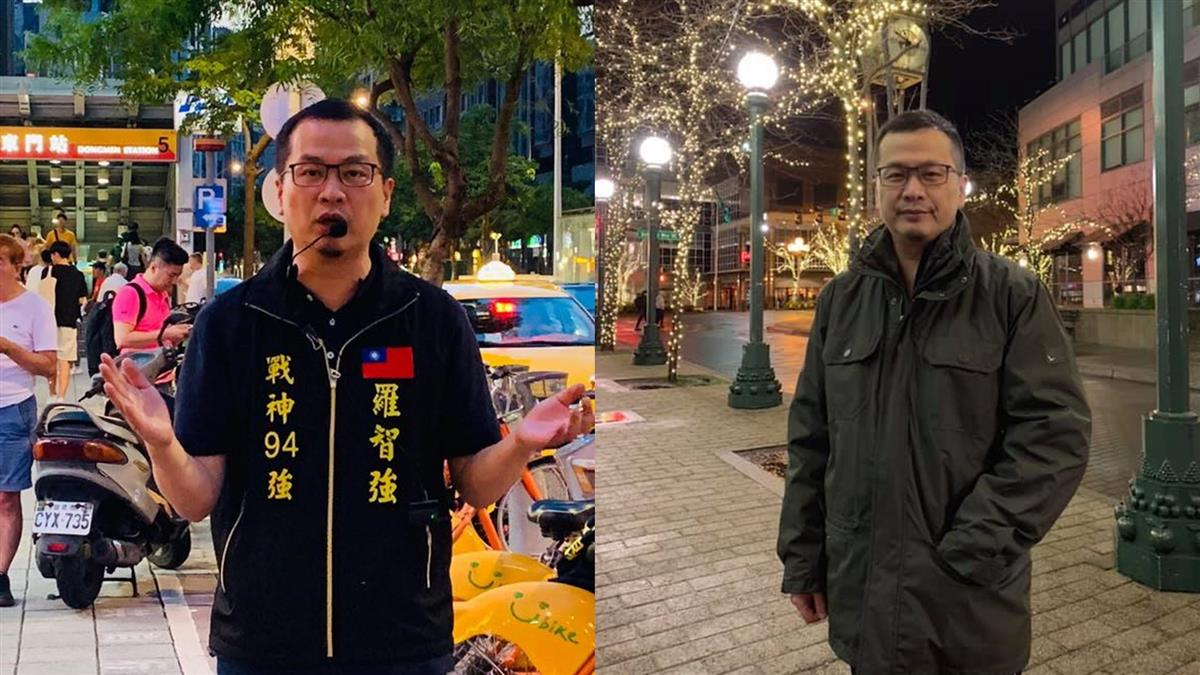 藍軍第一槍!羅智強宣布參選台北市長