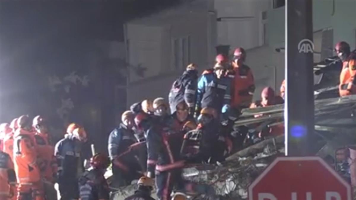 土耳其強震31死!女童受困24小時獲救