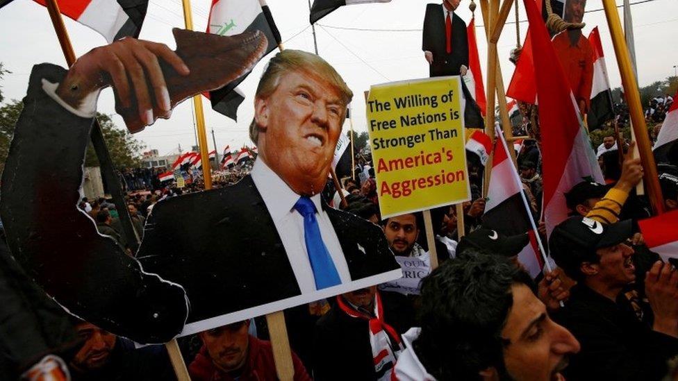 美國駐伊拉克使館遇襲 中東緊張局勢再升級