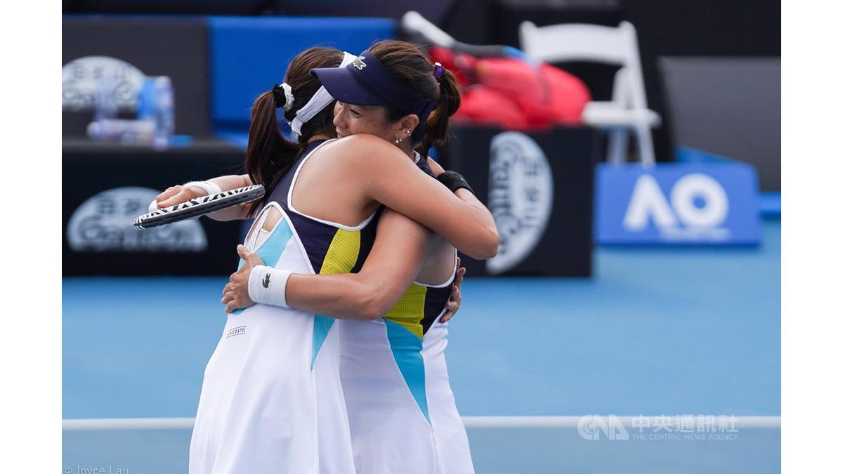 謝淑薇詹家姐妹澳網晉4強 女雙決賽拚台灣對決