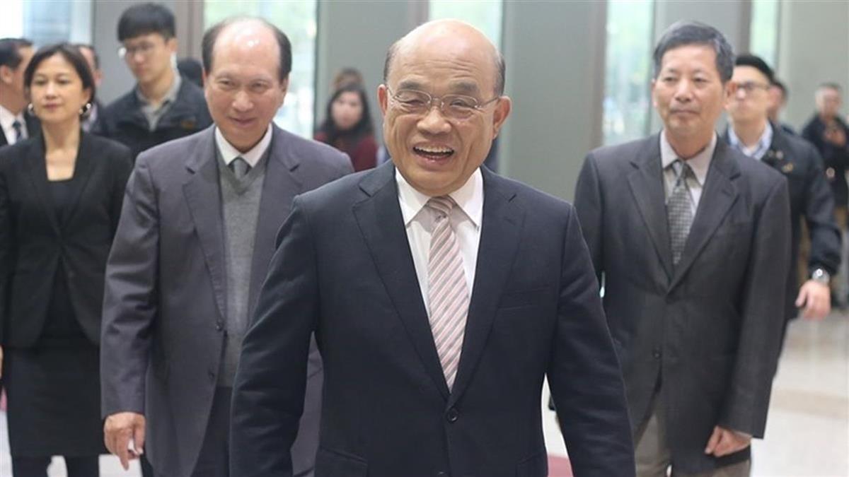 遭范瑋琪怒罵 蘇貞昌:不必一般見識