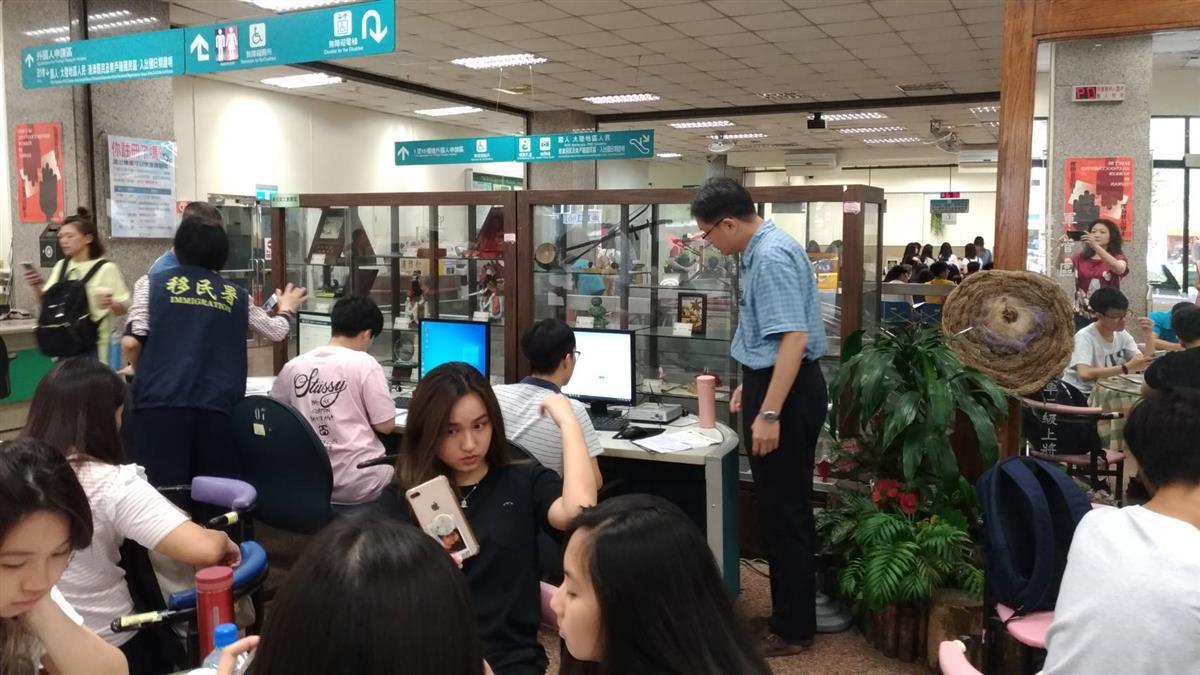 北市3所大學全面推廣 實施外來學生線上申辦居留證