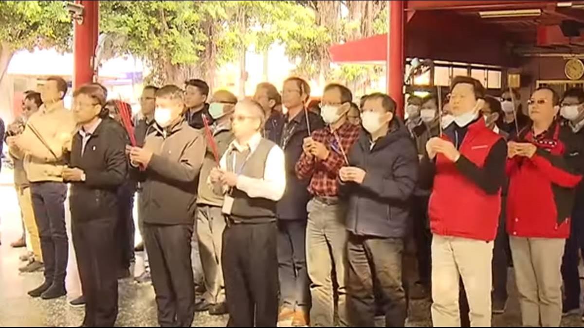 竹科半導體廠開工必拜 搶土地公廟頭香