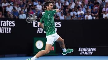 喬科維奇直落三擊敗費德瑞 8度挺進澳網男單決賽
