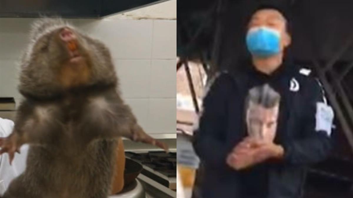 不甩武漢肺炎!廣州攤販戴口罩繼續賣野味