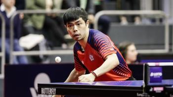 德國桌球公開賽激戰7局 莊智淵林昀儒慘吞敗