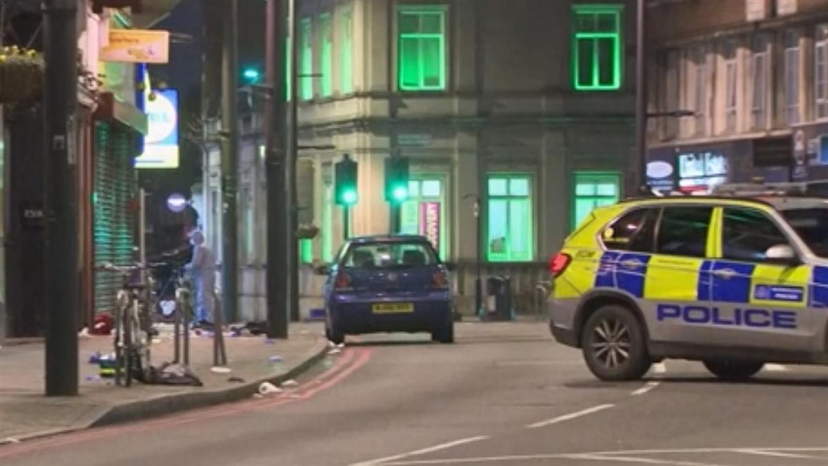 倫敦男持刀砍人增至3傷 遭警方擊斃倒地