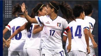 奧運女足資格賽 中華隊1比0勝泰國隊