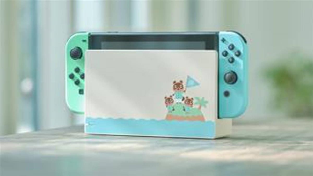 每天都想在家打電動!Switch推出限定色「湖水綠×蒂芬妮藍」,光看主機和遙控器就被療癒啦♡