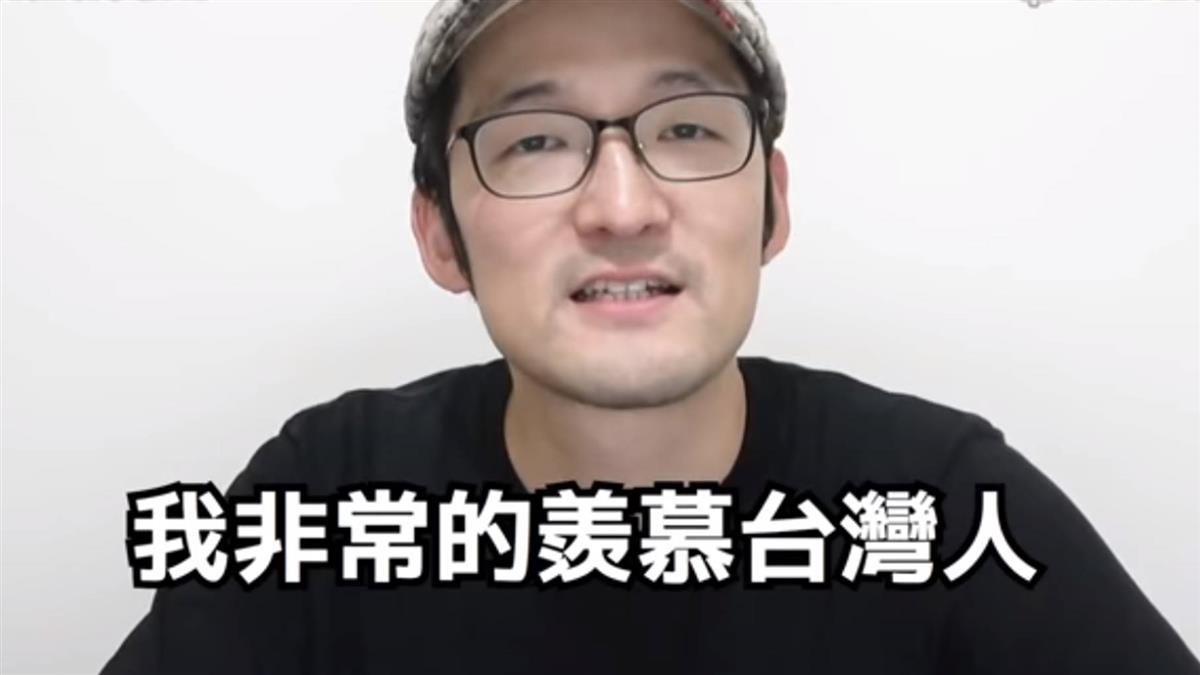 日網紅看台防疫 大讚3做法:羨慕台灣人