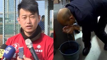 韓國瑜突捧消毒水猛聞 陳柏惟曝背後原因