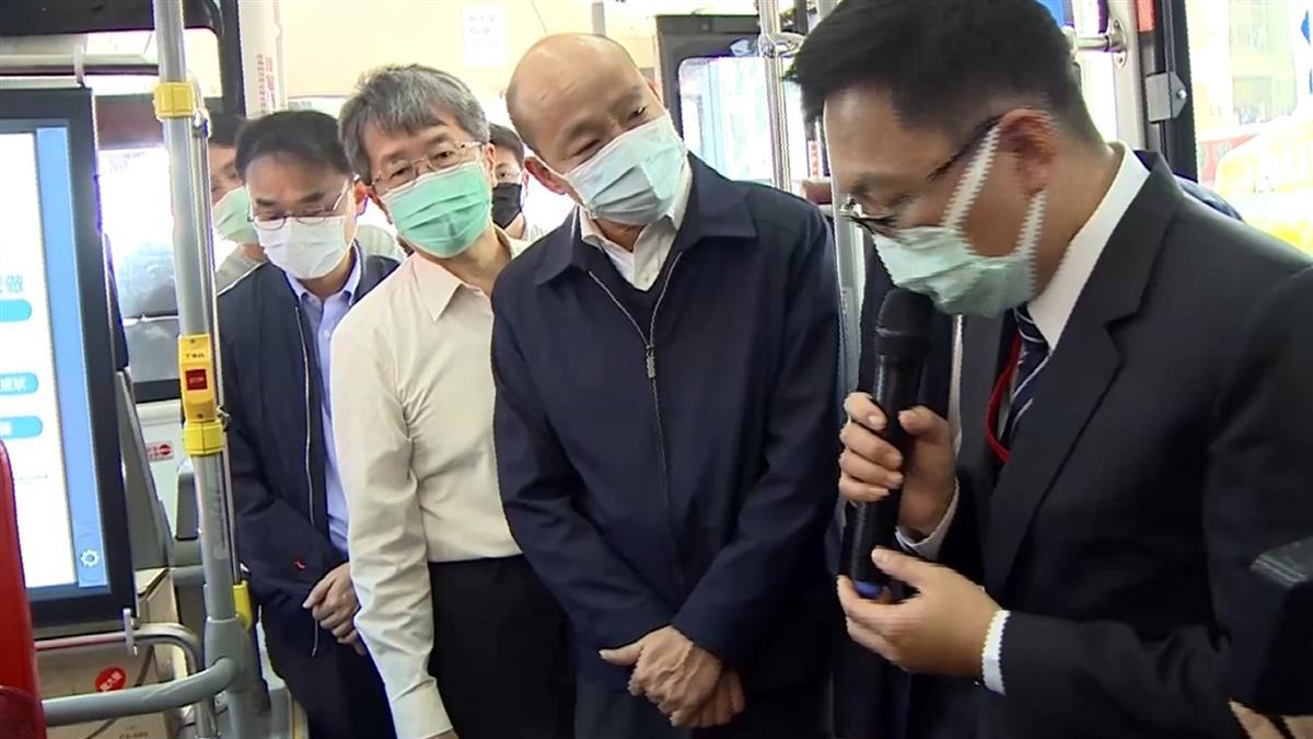 武漢肺炎疫情蔓延 網喊:慶幸韓是高雄市長
