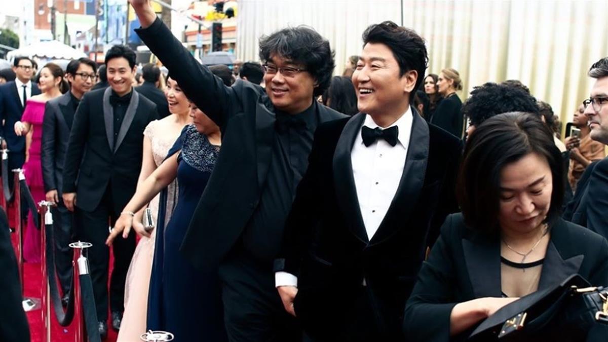 南韓史上首次 《寄生上流》奪奧斯卡最佳原著劇本