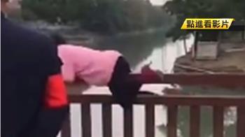 不戴口罩硬闖防疫點 婦人激動跳河被救起