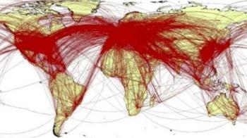 英國模擬6萬武漢人 曝全球「逃亡」模擬路線