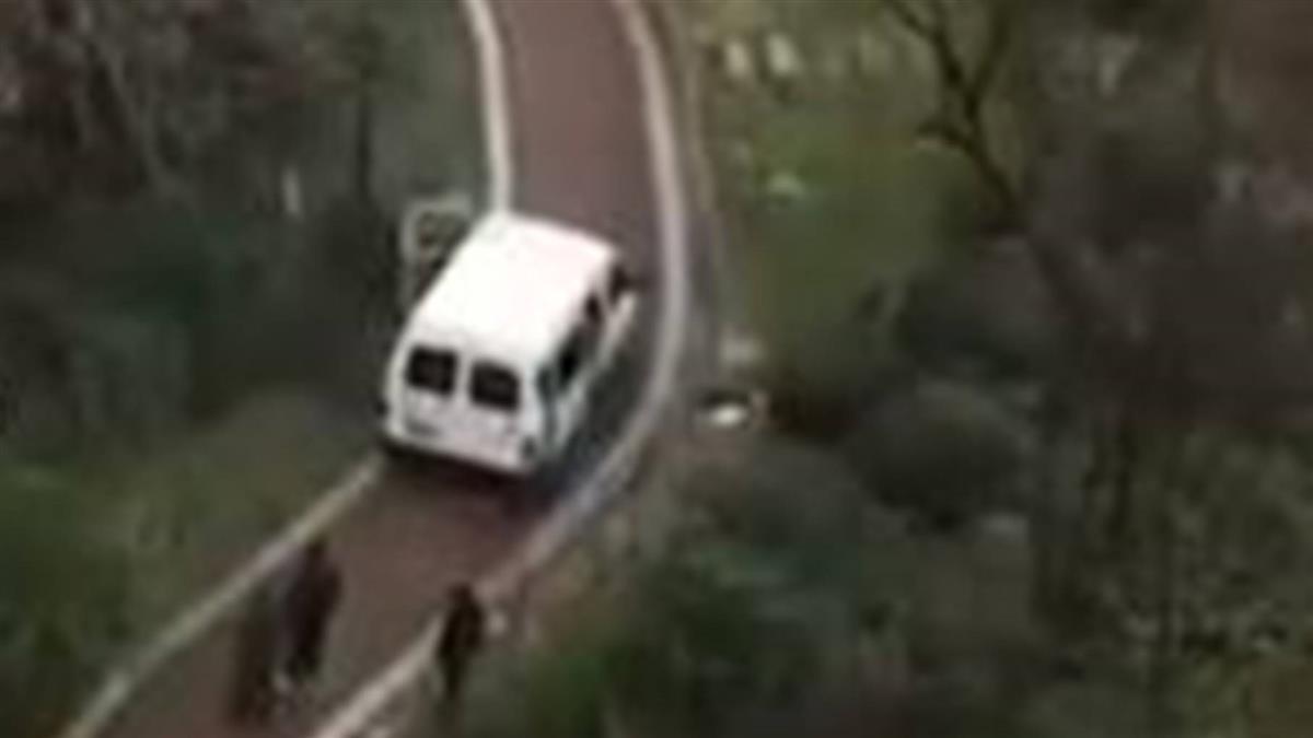 陸運屍車出沒  37秒片曝童嚇壞:裡面好多屍體