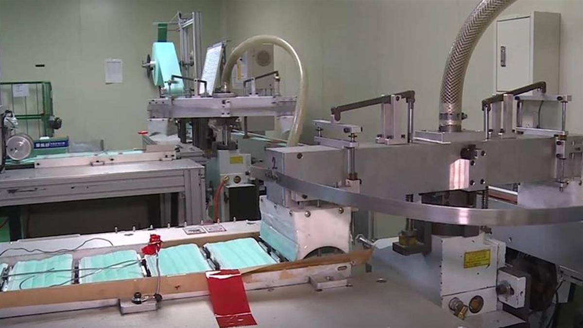 工廠私賣口罩遭約談 扣走逾91萬片醫用口罩