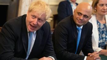 英國「脫歐」首相約翰遜改組內閣 二號人物辭職引發政界「地震」