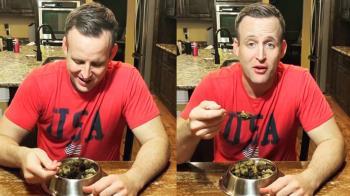 CEO挑戰吃狗糧一個月 身體出現驚人變化