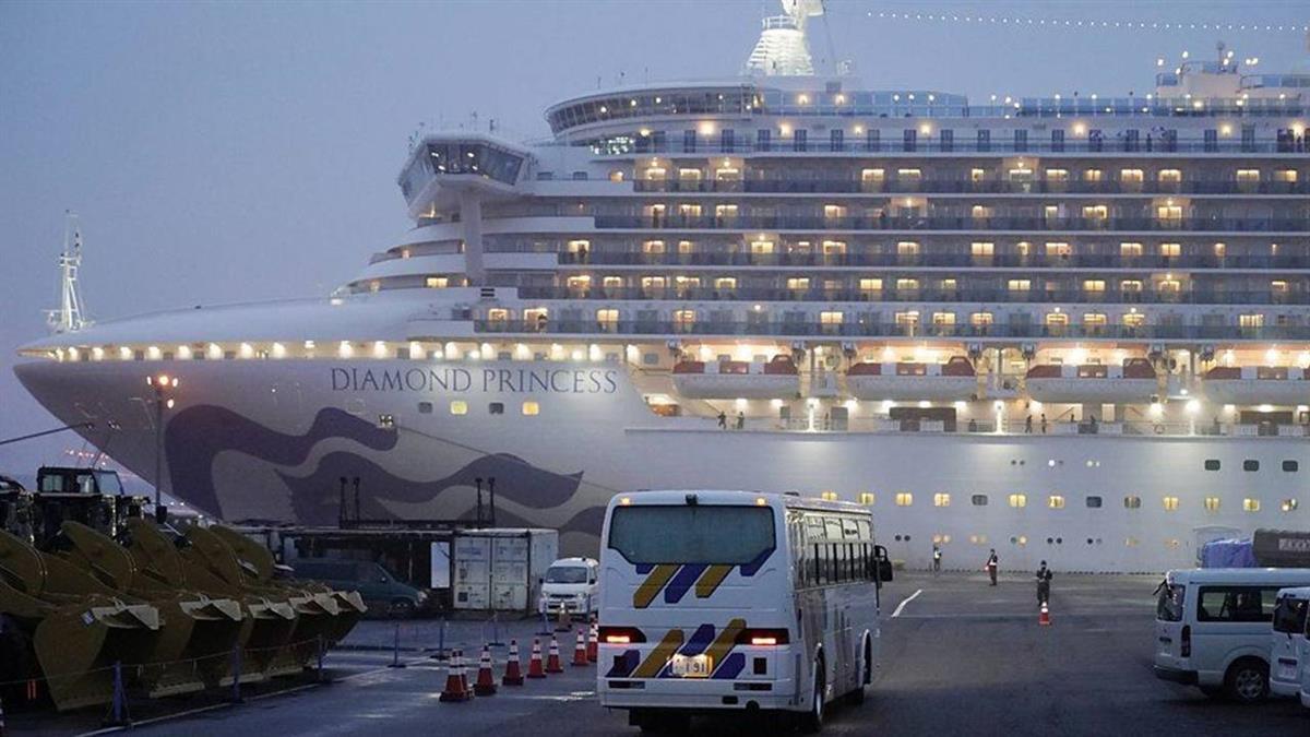 肺炎疫情:鑽石公主號乘客開始被撤離 美國乘客批郵輪隔離檢疫「失敗」