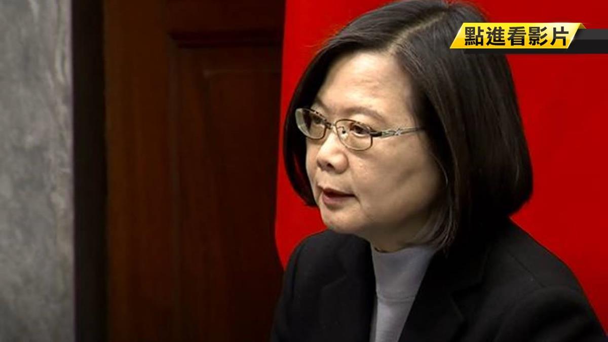 武漢台商隔離期滿 蔡總統:台灣經驗值得和世界分享