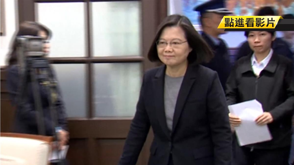 參加祈福法會 蔡英文:台灣一定平安