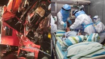 消防員重傷住院被傳患武肺!5歲兒痛心說話了