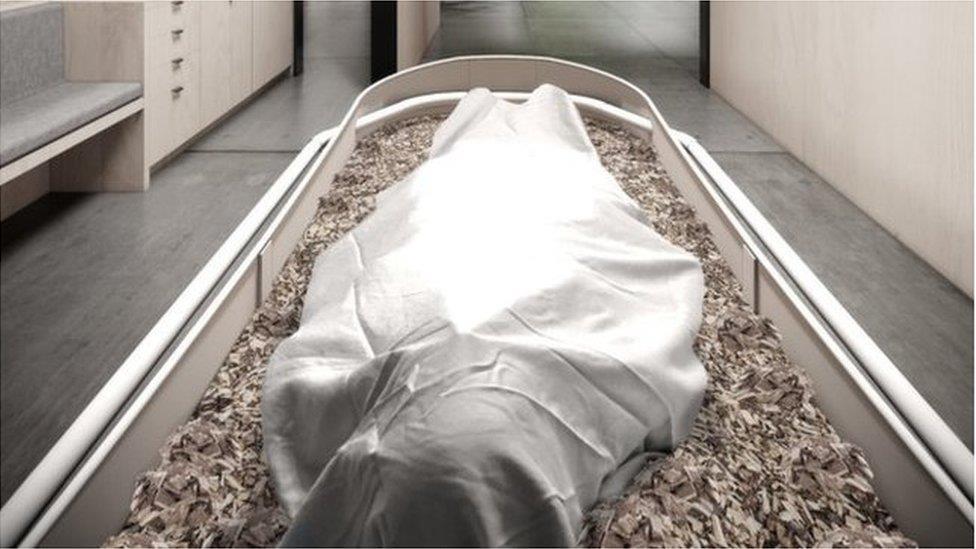 環保葬禮:人類遺體堆肥或成為殯葬新方式