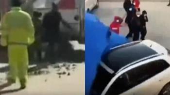 大陸防疫惹議!不滿公安執法過當 男開車衝撞警