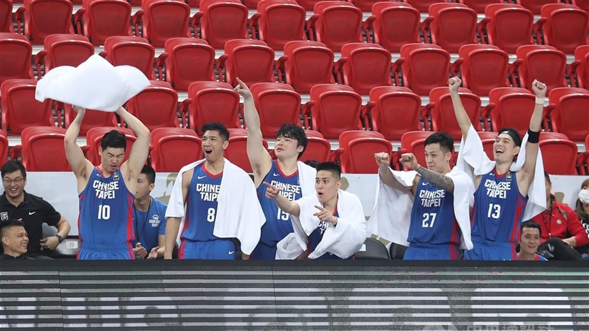 亞洲盃男籃關門打 中華隊大勝馬來西亞104分