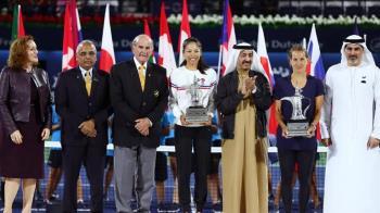 決勝盤連拿8分 謝淑薇杜拜網賽女雙2連霸
