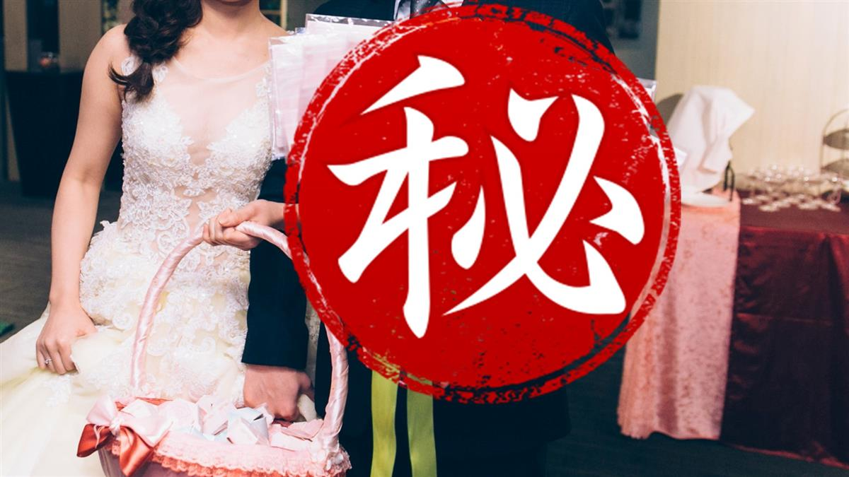 超狂新人!婚禮分送口罩捧花 網狂讚:土豪