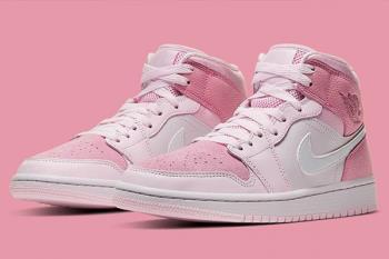 抓住草莓季的尾巴 5款「草莓奶霜粉」球鞋推薦,NIKE新款還能和男友搭成情侶鞋啊~