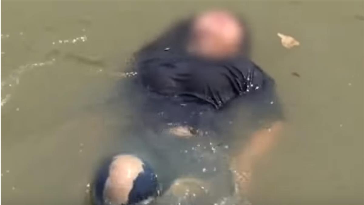 長髮妹跳河嚇壞路人 獲救淚崩:太會游泳