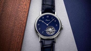 雋永深藍新面貌!寶璣Ref. 5367藍色大明火琺瑯陀飛輪腕錶
