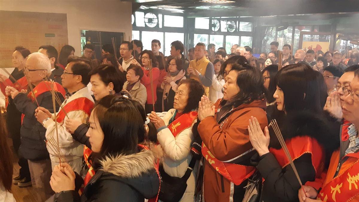 姜太公聯手媽祖點七星燈 為台灣祈福