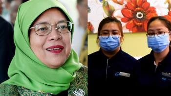 共體時艱!新加坡總統、內閣減薪1個月 醫護發獎金